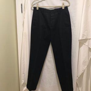 Men's Armani exchange black pants pre-owned l